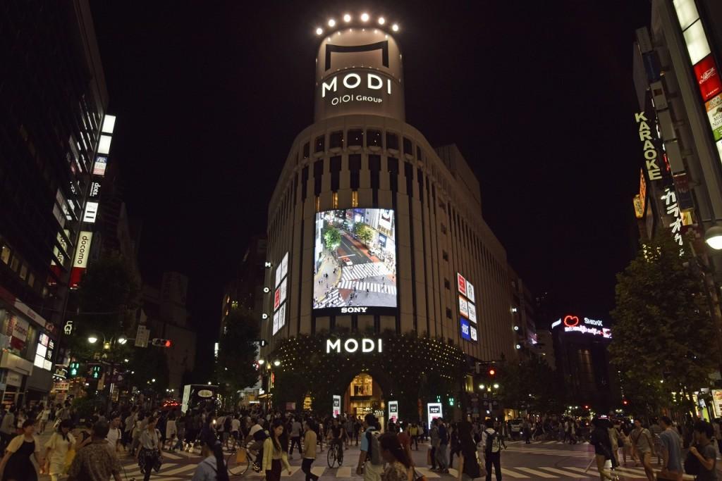 ソニービジョン渋谷